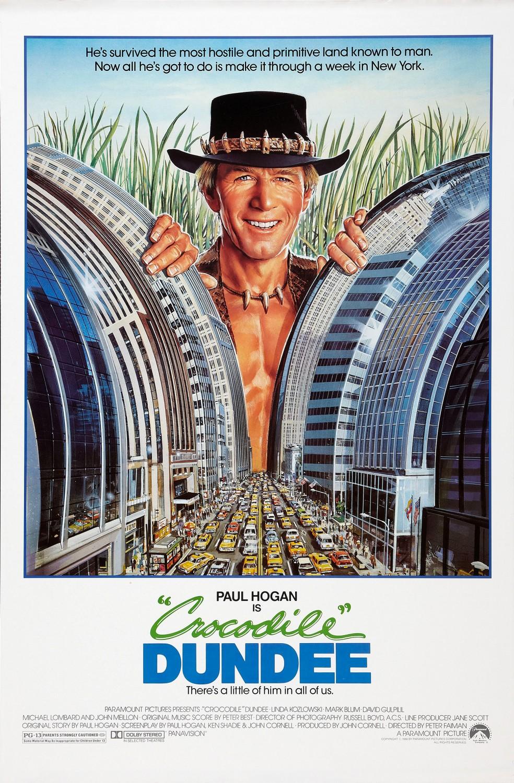 """Crocodile"" Dundee (1986) Trailer | ComedyTrailers.com | NEW COMEDY TRAILERS | ComedyTrailers.com"